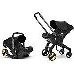 image of Doona+ Infant Car Seat and Stroller Travel System - Nitro Black