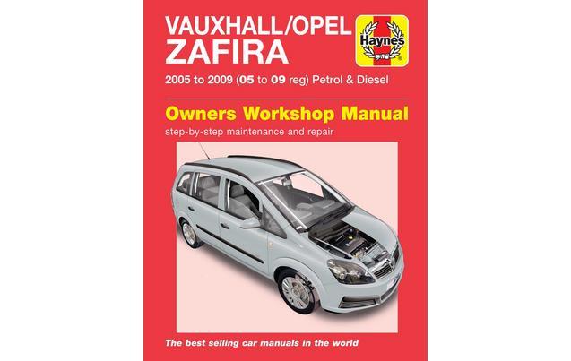 manual chevrolet zafira 2005