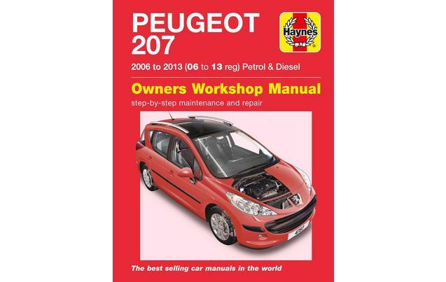 manual peugeot 207 premium