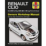 Haynes Renault Clio (Oct 05 - May 09) Manual