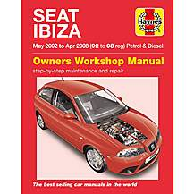 image of Haynes Seat Ibiza Petrol & Diesel (May 02 - Apr 08)