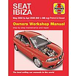 Haynes Seat Ibiza Petrol & Diesel (May 02 - Apr 08)