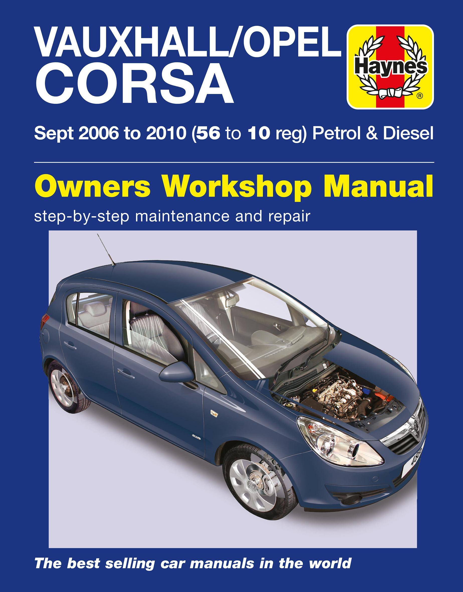 haynes vauxhall opel corsa sept 06 rh halfords com corsa workshop manual pdf corsa workshop manual free download