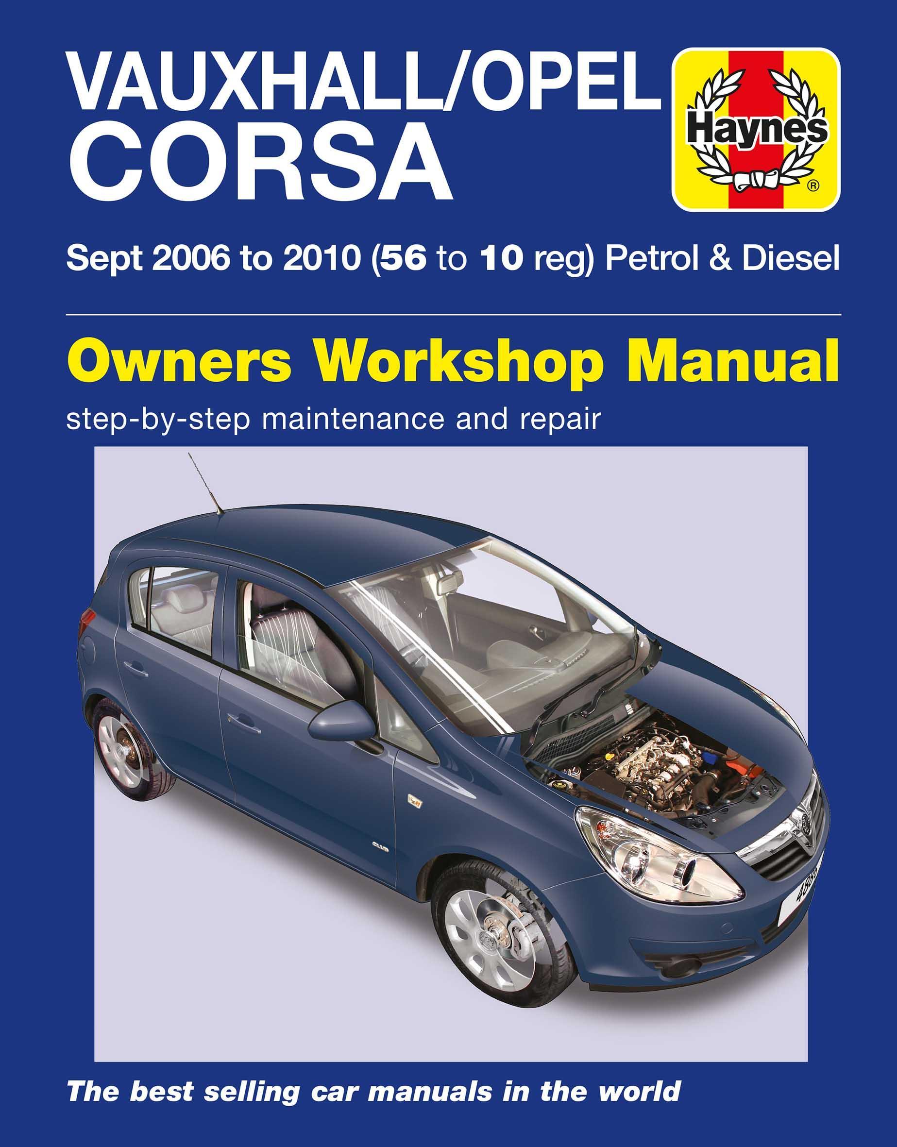 haynes vauxhall opel corsa sept 06 rh halfords com vauxhall corsa owners manual 2006 pdf Old Vauxhall Corsa