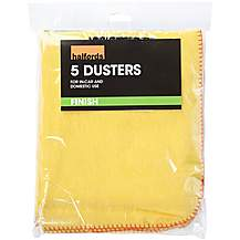 image of Halfords Dusters (Pack of 5)