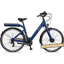 image of EBCO M-35 Electric Bike - Blue - 48cm, 52cm Frames