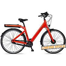 image of EBCO M-45 Electric Bike - Red - 48cm, 52cm Frames