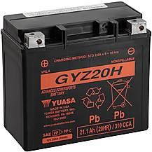 Yuasa GYZ20H 12V High Performance Maintenance