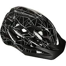 image of Black and Grey Lines Kids Helmet (52-56cm)