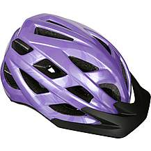 image of Purple Swirl Design Kids Helmet (52-56cm)