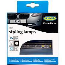 image of Ring Ultra Slim Cruise-Lite Ice LED Daytime Styling Lights