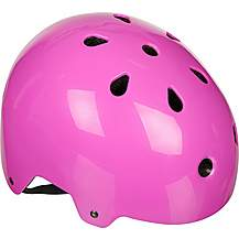 image of Halfords Essential ABS Kids Helmet - Pink (48-54cm)