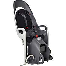 image of Hamax Caress Pannier Rack Mounted Child Seat - White/Black