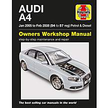 image of Audi A4 Petrol & Diesel Haynes Manual
