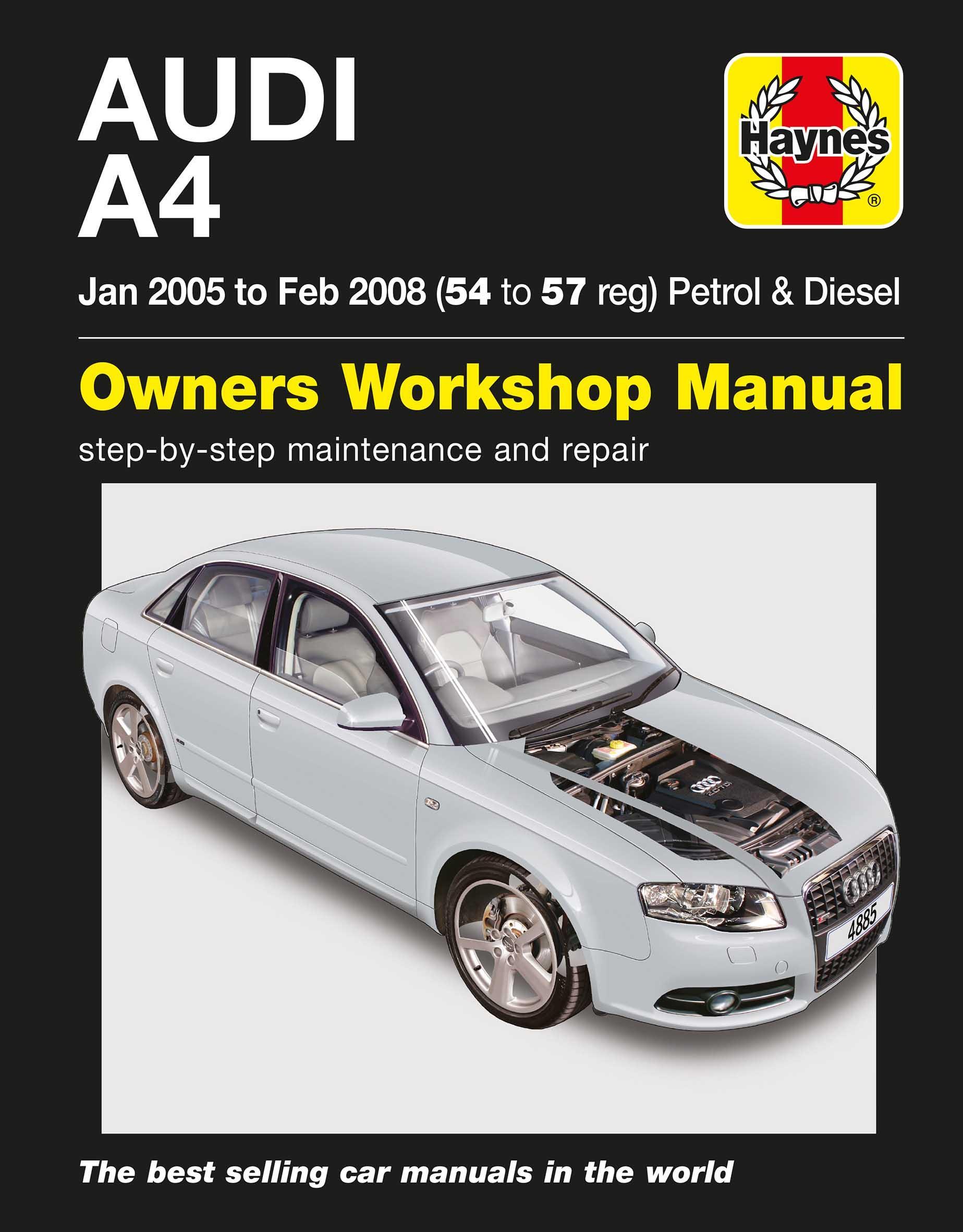 haynes manual audi a4 b8 open source user manual u2022 rh dramatic varieties com Audi A4 B7 B1 Audi A4