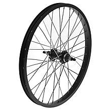 "image of Rear BMX Bike Wheel - 20"" x 1.75"" in Black"
