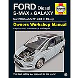 Haynes Ford S-MAX & Galaxy Diesel (2006-2015) Manual
