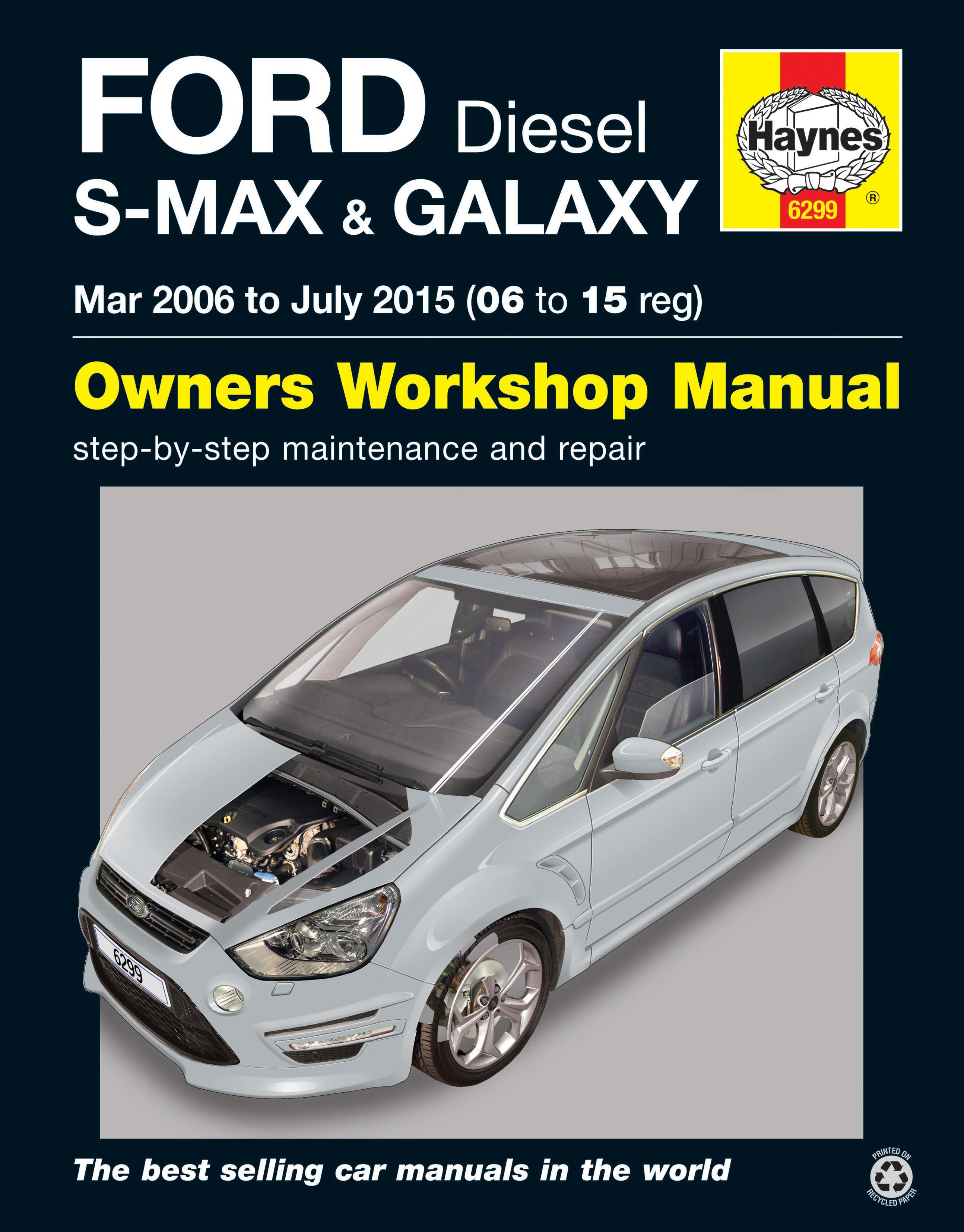 haynes ford s max galaxy diesel rh halfords com ford galaxy repair manual download workshop manual ford galaxy