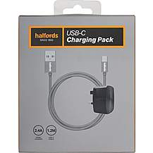 image of Halfords Charging Pack USB-C