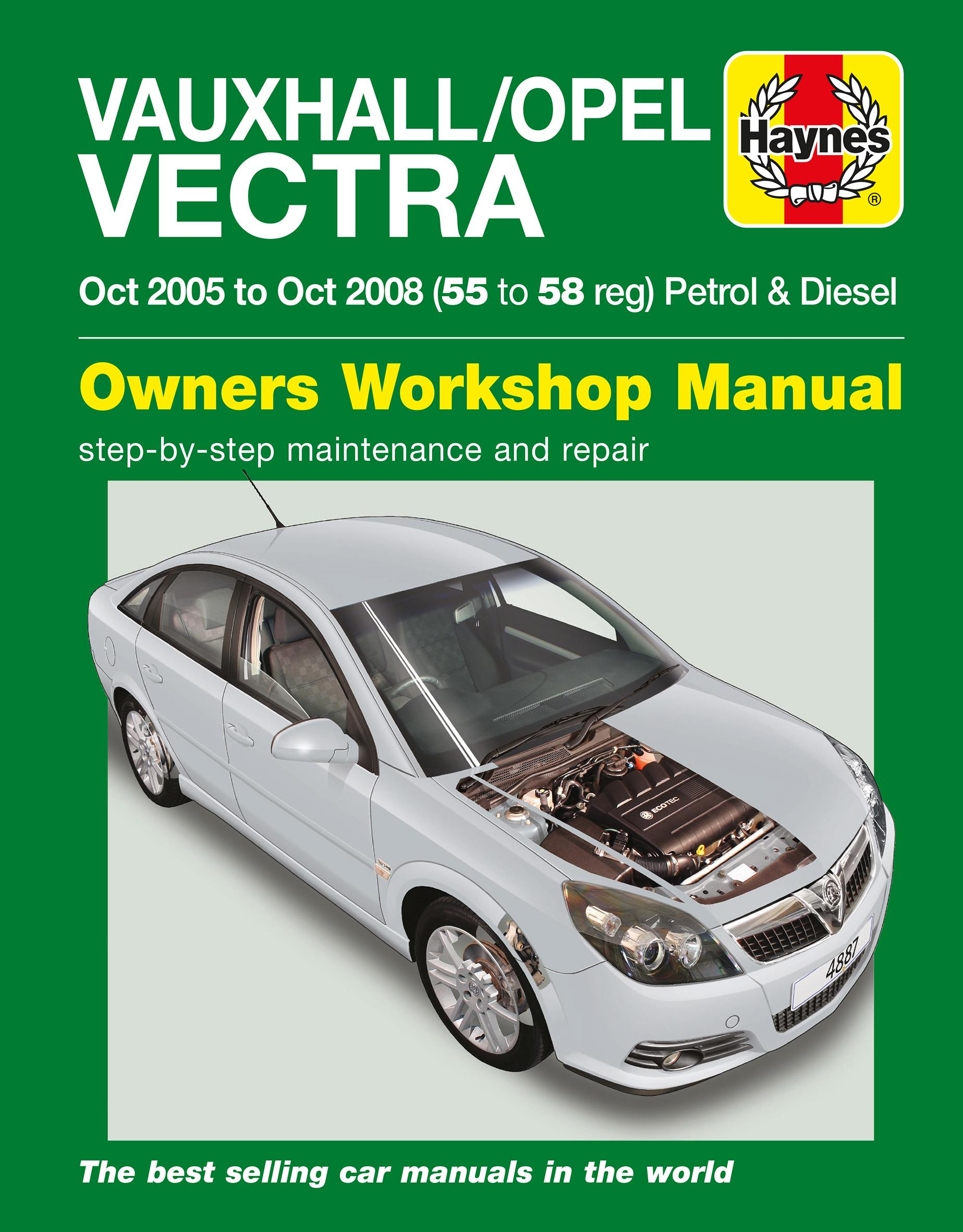haynes vauxhall opel vectra oct rh halfords com opel vectra c 2003 service manual pdf opel vectra c 2004 service manual