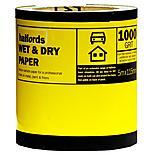 Halfords Wet & Dry Sandpaper Roll 1000g
