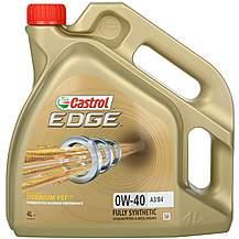 image of Castrol Edge Titanium Sport 0W40 Oil 4 Litre