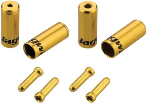 Jagwire Pro End Cable Ferrules - Gold