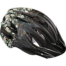 image of Camo Design Kids Helmet - Black (48-55cm)