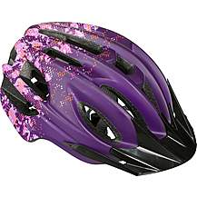 image of Camo Design Kids Helmet - Purple (48-55cm)
