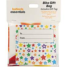 image of Halfords Essential Bike Gift Bag - Stars