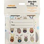 image of Halfords Essential Bike Gift Bag - Reindeer