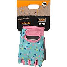 image of Halfords Essential Triangle Junior Bike Mitts (7-10 years)