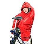 image of Hamax Child Bike Seat Rain Poncho
