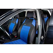 image of Ripspeed Car Seat Cover Full Set - Blue