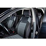image of Ripspeed Car Seat Covers Full Set - Grey