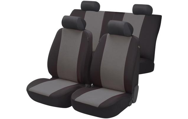 Essentials Seat Covers Full Set Bla...