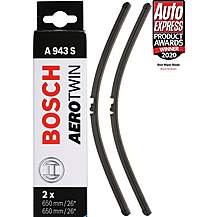 image of Bosch A943S Wiper Blade - Front Pair