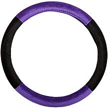 image of Halfords Purple Steering Wheel Cover