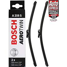 image of Bosch A208S Wiper Blade - Front Pair