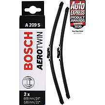 image of Bosch A209S Wiper Blade - Front Pair