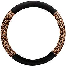 image of Halfords Leopard Steering Wheel Cover