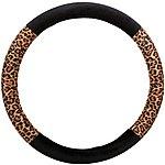 image of Halfords Leopard Steering Wheel Cover