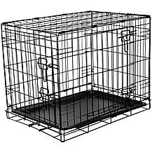image of RAC Metal Fold Flat Crate Small