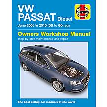 image of Haynes VW Passat Diesel (June 05 to 10)