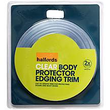 image of Halfords Bodyguard Clear Door Trim 2 x 3m