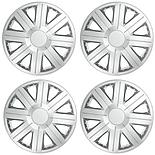"Halfords Essentials 15"" Wheel Trim - Set of 4"