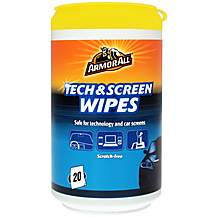 image of Armor All Tech & Screen In Car Wipes