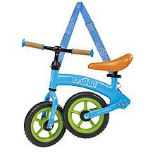 "image of Trunki Folding Balance Bike - Blue - 10"" Wheel"