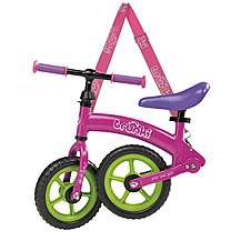 "image of Trunki Folding Balance Bike - Pink - 10"" Wheel"