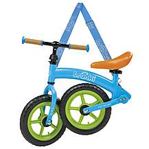 "image of Trunki Folding Balance Bike - Blue - 12"" Wheel"